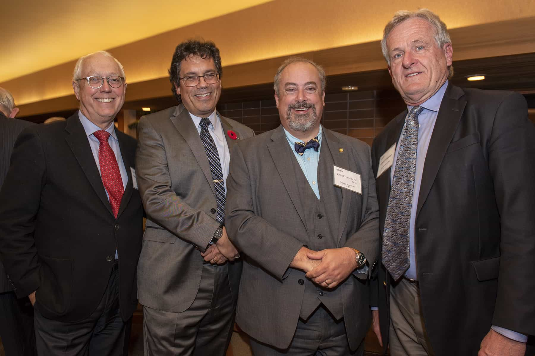 Murray Rankin, QC; James Legh; Bruce Hallsor, QC; Alan Treleaven